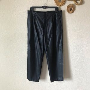 Banana Republic Vegan Leather Pants